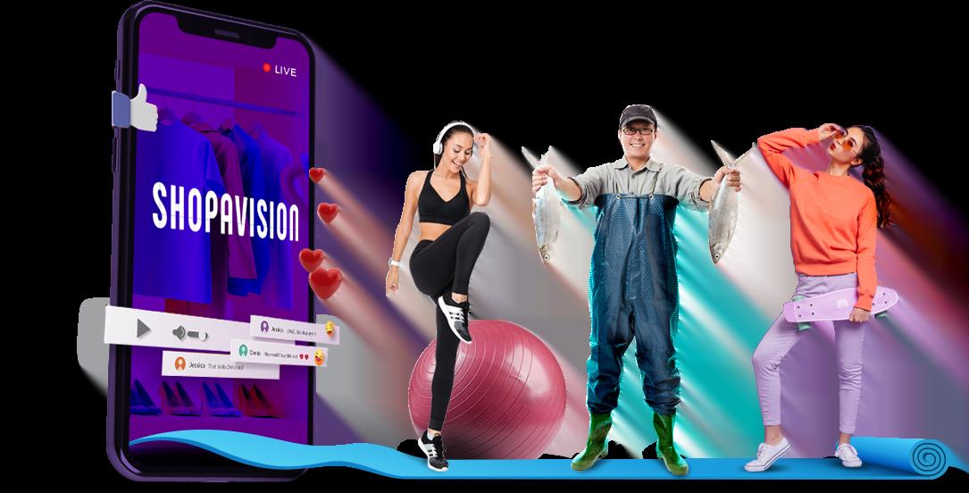 Shopavision, a new live streaming platform