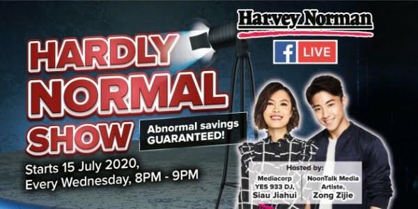 Harvey Norman's own live stream